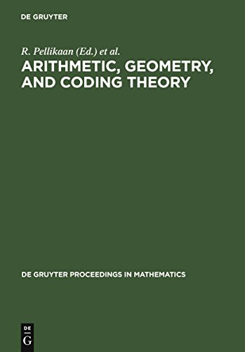 Arithmetic, Geometry, and Coding Theory: Proceedings of the International Conference held at Centre International de Rencontres de Mathématiques (CIRM), ... in Mathematics) (English Edition)