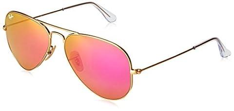 Ray Ban Herren Sonnenbrille RB3025 Gold, One size (58)