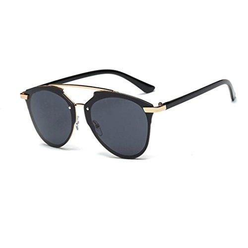 Winwintom Mujeres Hombres verano Vintage Retro moda gafas de aviador u