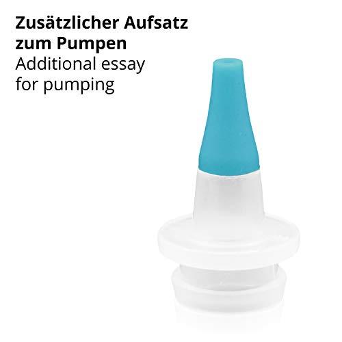 TALINU Nasensekret-Sauger für Babys und Kleinkinder/Nasen-Sauger/Baby-Nasensauger/Nasenschleim-Entferner - 4