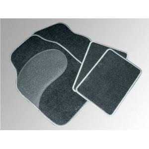Preisvergleich Produktbild EUFAB 28025 Autoteppich-Set Diamant 4-t.schwarz-grau meliert