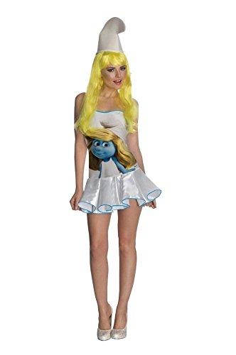Rubis Schlumpfine Kostüm Die Schlümpfe The Smurfs für Damen (Und Schlumpfine Schlumpf Kostüme)