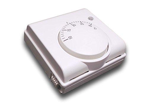 SM-PC®, Thermostat Fußbodenheizung Elektroheizung Aufputz weiß #740