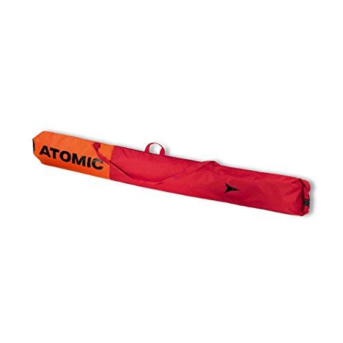 Atomic, Ski-Sack, 210 x 34 cm, Längenverstellbar, Polyester, Ski Sleeve, Rot/Hellrot, AL5038410
