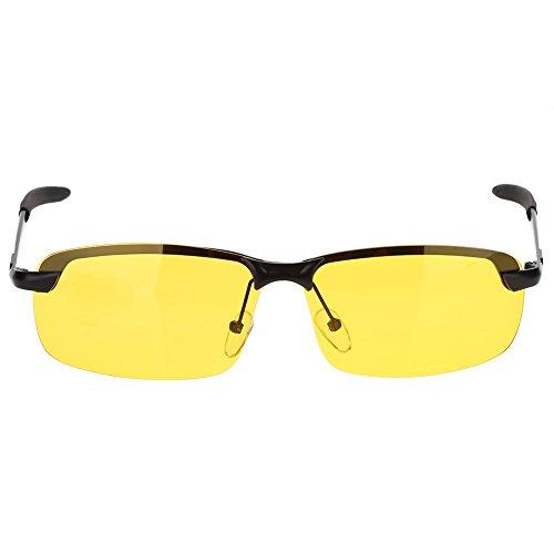 HD Brillen Einstellbare Metallrahmen Vision Polarisierte Brille Nachtsicht Fahren Gläser Anti-Glare Brillen