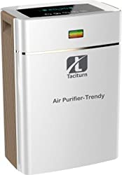 Taciturn Trendy Portable Room Air Purifier(White)