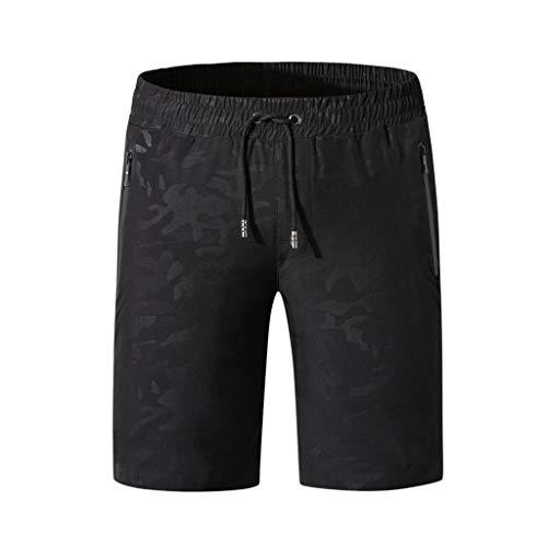EUZeo Badehose für Männer Trocknen Casual Schnell am Strand Surfen Einfarbig Laufen Schwimmen Wassershorts Sportswear Style Anglerhose Badeshorts Beachwear Beachshorts