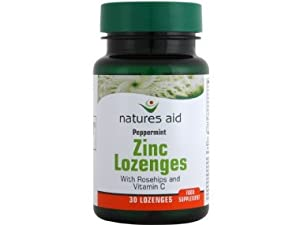 Natures Aid Zinc Lozenges (Peppermint) 30 Tablets - CLF-NA-17410 from Natures Aid