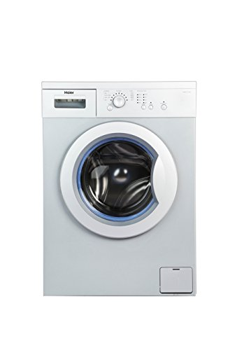 Haier 6 kg Fully-Automatic Front Loading Washing Machine (HW60-1010AS-1, Silver...