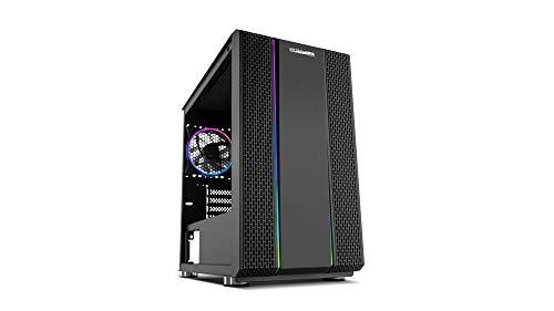 Nox Hummer Fusion S - NXHUMMERFSNS - Caja PC, ARGB, USB 3.0, Color Negro