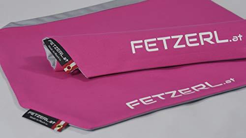 FETZERL das Schweisstuch für die Hose für Wanderer, Tourengeher und alle Sportler die Schwitzen! Made in Austria aus feiner Baumwolle und modernen Funktionsstoffen. (BLAU)