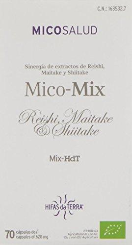 Foto de Hifas da Terra Mico Mix Setas HdT, Suplemento de Hierbas - 70 Cápsulas