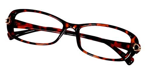 Lensport Eyewear Rectangular Women's Spectacle Multi-Colored Frame (7016C4|50| Transparent)