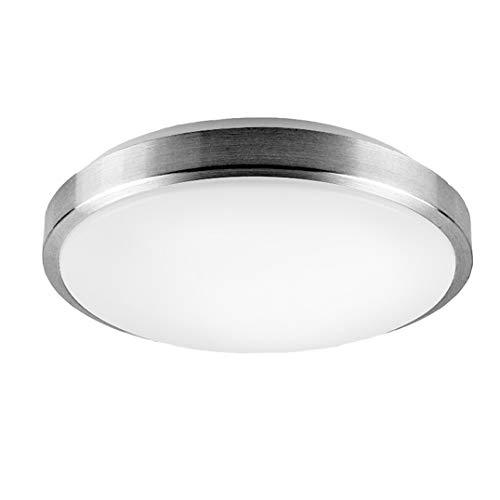 Style home® LED Deckenlampe Deckenleuchte Küchenlampe Wandlampe Schlafzimmer Wohnzimmer Diele Keller Leuchte rund Warmweiss X001 (12W)