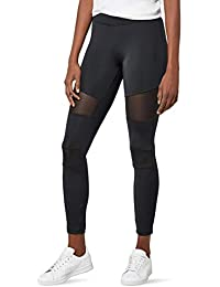 Urban Classics Ladies Tech Mesh Leggings, Sculptant Femme