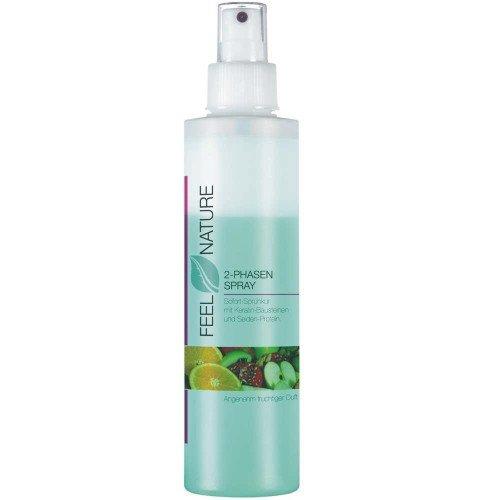 200 Ml Natur - (Feel Nature 2-Phasen-Spray 200 ml Sofort-Pflegespray speziell für beanspruchtes & strapaziertes Haar)