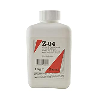 1000 g Amasan ZWN Soldering Fluid for Soft Soldering of Titanium Zinc and Galvanised Sheet Steel
