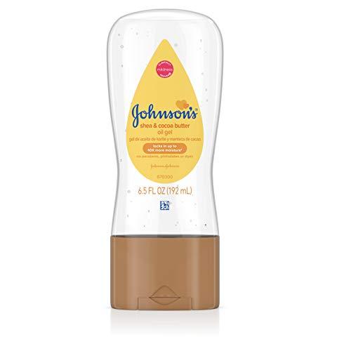 Johnson's Baby Oil Gel - Shea & Cocoa Butter - 6.5