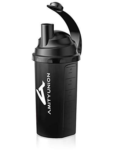 Eiweiß Shaker 800 ml mit Sieb und Skala BPA frei aus Europa -...