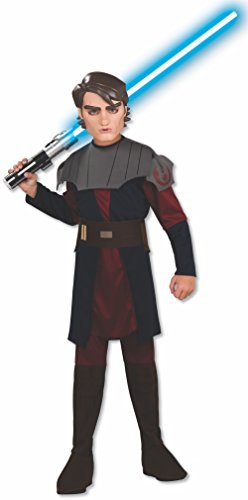 Disney Star Wars Anakin-Skywalker-Kostüm für Kinder - Größe M (Star Wars Anakin Skywalker Kostüm)
