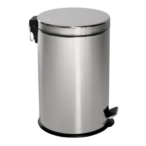 MAURER 5421500 Papelera Inoxidable Cocina/Baño 20 litros 30x44 cm.
