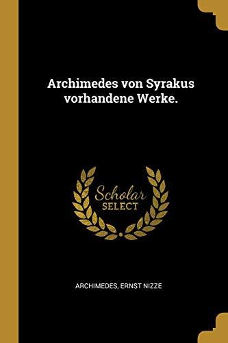 GER-ARCHIMEDES VON SYRAKUS VOR