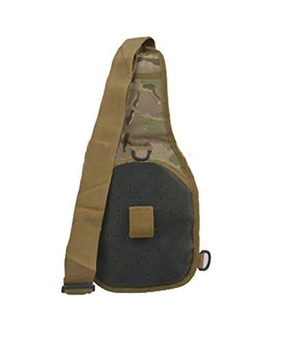 ModaKeusu Outdoor Tactical Rucksack Military Sport Pack Daypack Schulter Rucksack für Camping, Wandern CP