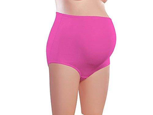 Tanishqa Women's Suede Julia Maternity Panties (Rani_Extra Large)