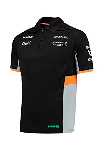 Sahara Force India F1 Hombre Team Polo Camiseta - 2017 M