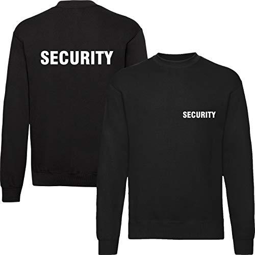 T-Shirt Security | Crew | Ordner | WUNSCHTEXT | Poloshirt | Hoodie | Jacke | Warnweste (M, Security - Sweatshirt) Crew Print Sweatshirt