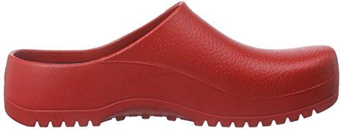 BIRKENSTOCK Damen Super Birki Clogs Rot (Red)