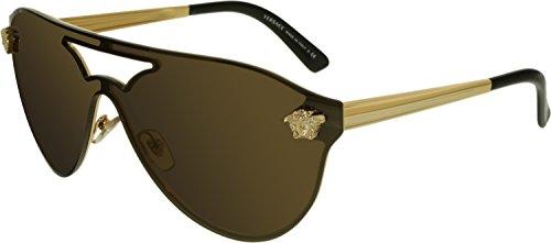 Versace Sonnenbrille (VE2161) GOLD/DARK GREY