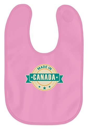 Schuhboutique Doris Finke UG (haftungsbeschränkt) Made in Kanada - Baby Lätzchen -Einheitsgröße-Bubble Gum Pink