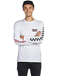 08369d4a92 Vans X Independent Checkerboard Longsleeve Tee White