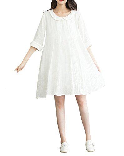 Stylish / Large Size / Qualität Fabrics Umstandskleid (Das Neue) (Neue Umstandsmode)
