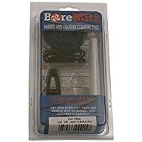 BoreBlitz Laufreinigungsschnur Laufreiniger für Pistolen & Revolver mit Kaliber 9 mm / .357 / .38 inkl. Handgriff
