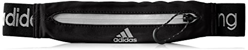 adidas Run Belt - Riñonera, color negro, talla NS