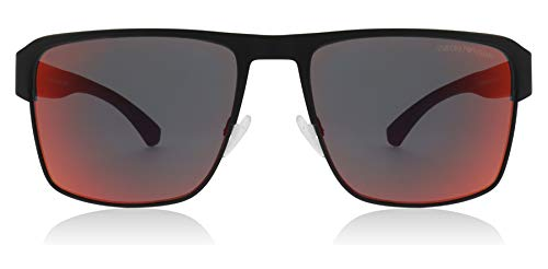 Emporio Armani Sonnenbrillen EA 2066 BLACK/ORANGE Herrenbrillen
