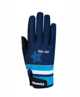 Roeckl Sports Junior Handschuh -Kelli- Kinder Reithandschuh, Marine, 5