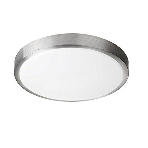 ZHMA 8W Plafonnier LED, 4200K Blanc naturel, 640 LM, Lampe