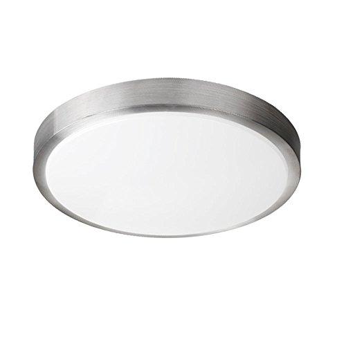 Zhma led 8w ceiling lights 4200knatural white 640lm ip44 moisture prooflighting for living room,office bathroom kitchen hallway flush ceiling