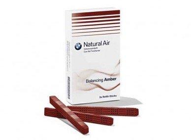BMW originale natural air deodorante per interni - kit ricarica balancing amb