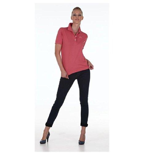 Robe Di Kappa - Polo T-Shirt Maglia Donna Piquet Stretch Mare Sport Art. Golovin Navy
