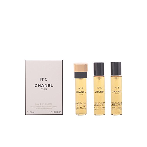 CHANEL No5 EDT NF 3x20 ml (Eau De Chanel Toilette 5 Spray)