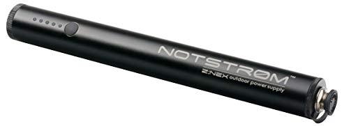 ZNEX NOTSTRØM XT | Wasserdichte IP67 Outdoor Power Bank mit Rahmenhalter fürs Fahrrad, Rennrad, MTB, Trekkingrad zum Laden von iPhone Handy GPS USB Bike Lampe | 6.800mAh/2.4A