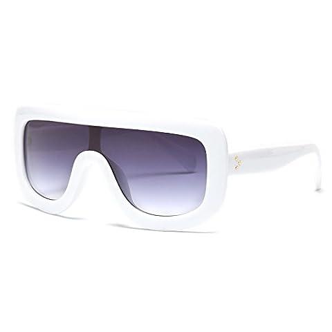 Europa Und Die Stilvolle Neue Siamesische Siamesische Sonnenbrille Cool Persönlichkeit Typ Sonnenbrille , 2