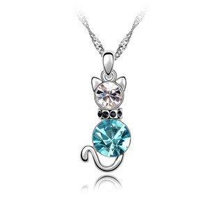 fashmond-mon-chouchou-collier-pendentif-chat-mignon-alliage-plaque-or-blanc-avec-cristal-bleu-lucky-