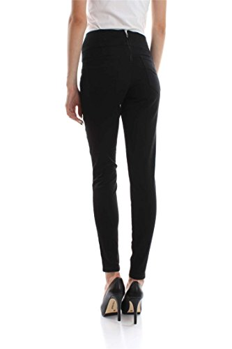 GUESS - Damen slim fit jeans curve high w73a49d2n30 Nero