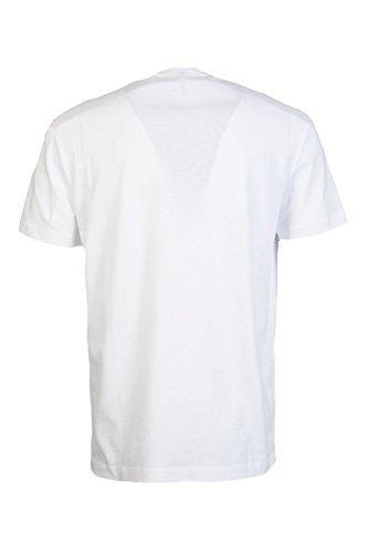 Versace Herren T-Shirt weiß weiß XXL Weiß