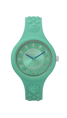 Versus by Versace Reloj Analogico para Mujer de Cuarzo con Correa en Silicona VSPOQ2718